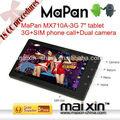 """Mapan libero portatile giochi scaricare 7""""android 4.0 metà tablet pc manuale 3g con telefonata"""