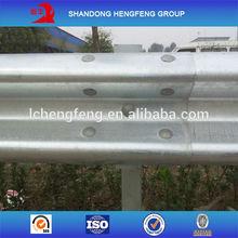 Corrugated W Beam Vehicle Highway Guardrail Barrier