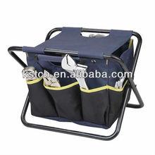 Tool bag,foldable tool bag,tool bag with chair,KST-T022