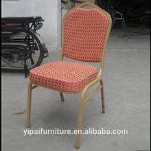 hotel restaurant aluminum high density foam king throne chair