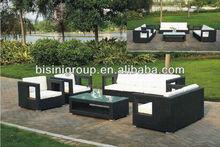Outdoor/Garden Furniture/Wicker Rattan Sofa Set (BF10-R19)