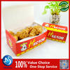 Disposable paper fried chicken bucket / packaging