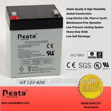 Toy car Battery 12v 4ah valve regulated lead acid battery