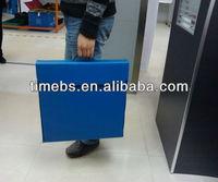 Portable coroplast pp corrugated case