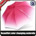de alta calidad de moda la magia del color cambiante paraguas