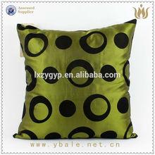 New 3D flower design satin cushion / cushion coversZYH009
