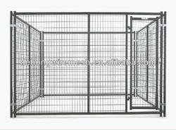 Iron Fence Dog Kennel/Large Steel Dog Kennel(ISO9001)