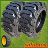 skid steer tires 12-16.5, hot sale solid rubber wheels with low price
