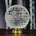 nova bola de cristal do metal punho mala em ouro hardware 50mm