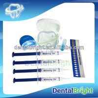 home teeth whitening kit/non peroxide teeth whitening kit