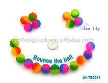 Grinding bouncing balls