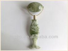 jade face roller massager fishing roller for slimming