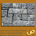 Parede exterior cladding_decoration stone_facing stone_charcoal flexível folheado de pedra