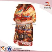 Costume Pendent Elegant Silk Scarf 2013 Feeling Lady Pashmina Scarf, Personalized Silk Scarf, Raw Silk Scarf