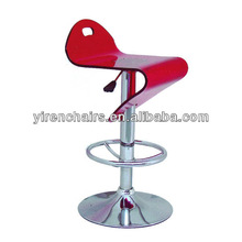 BS-140 transparent swivel bar stool acrylic chair