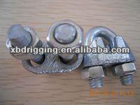 E.Galv wire rope clip US TYPE/duplex wire rope clip/cast iron wire rope clip