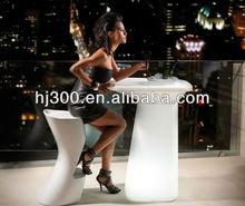 led flash bar table/illuminated pub table/bar dining desk lamp