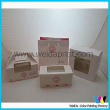Cupcake food packaging case