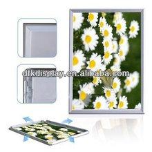 Extrusion aluminum picture frames, advertising Mitre & Round corner shape