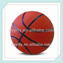 5# Brown rubber basketball