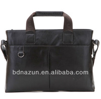 men PU leather laptop bags computer case
