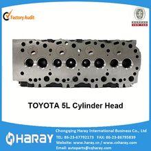 5L Diesel Engine Cylinder Head For Toyota