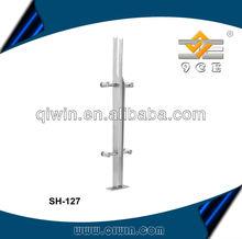 wood banisters and handrails/wooden banister rail/design stainless steel stair railing banister SH-129