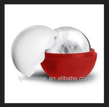 New arrival FDA/LFGB for ice cream Sphere silicone ice ball mould