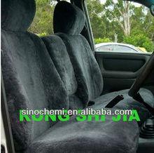 Elegant Sheepskin Fur Leather Car Seat Covers RSJ095