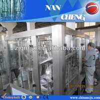 complete automatic PET bottled water production line