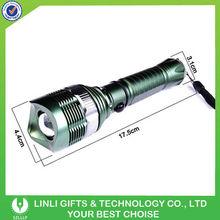 cree q5 high power dimming green led flashlight
