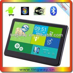 5' 7'gps navigation 3g wireless color video car with FM,MP3,MP4,wifi,av in,bluetooth,dvr,512SDRAM+8G flash