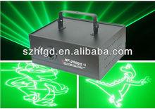 2W Green laser Animation/Cartoon Laser Stage Light
