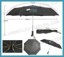 "21""x8k Foldable New Style Windproof Umbrella with Custom Logo Printing"