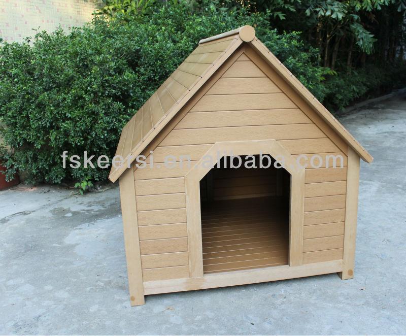 fashion design PS wooden pet house/dog kennel