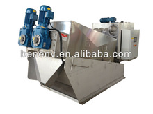 Screw filter machine for livestock processing plant sewage (MDS312)