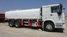 HOWO 336hp 20m3 White High Pressure Water Tank Truck