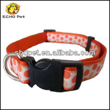 Cute dots printed cat collar dog collar