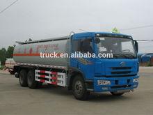 FAW 20~25 CBM oil tank truck, 20~25 CBM gasoline or diesel transporting truck,Petroleum transporting truck
