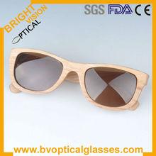 Hot sale 5015 retro nature polarized sunglasses bamboo eyewear