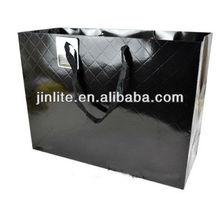 High quality logo printed paper shopping bag