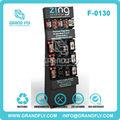 Pos amostra grátis telefone inteligente carrinho de exposição de acessórios de telefone celular de cartão acessório displays de papelão