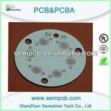 Single side aluminum base pcb manufacturer for led light in Shenzhen
