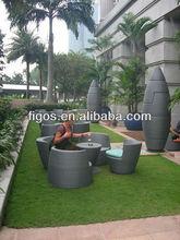 PE rattan outdoor furniture & patio wicker garden sofa
