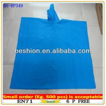 High quality waterproof vinyl rain poncho