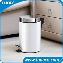 Metal stainless steel trash bin & garbage can & trash can