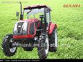 Vendas quentes!!! Qln-1004 tractor agrícola, 100hp 4wd grande tractor agrícola