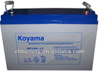 Rechargeable Battery 12V100AH Storage VRLA Battery