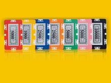 Rectangular Poker Chips for sale,wholesale Plastic poker chips,Customize poker chips