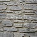 Onda de pedra rock painel de parede ; interior parede de pedra decoração ; imitação de pedra revestimento de paredes